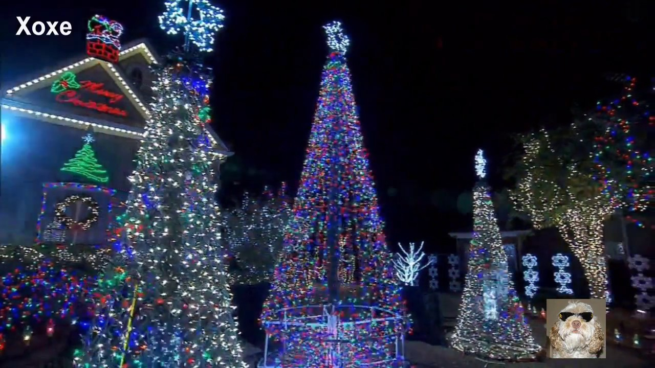 Merry Christmas Lights.Merry Christmas Lights Show