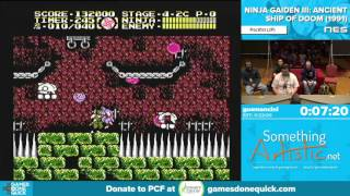 Ninja Gaiden III by gusmancini in 19:25 - Awesome Games Done Quick 2016 - Part 76