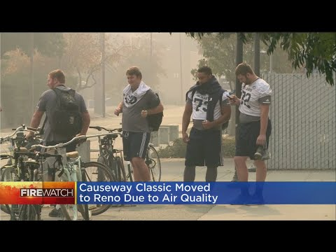 Causeway Classic Football Game Moved To Reno Due To Air Quality Concerns