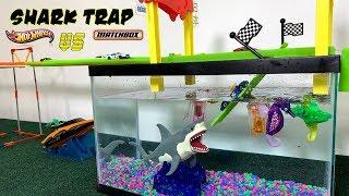 Hot Wheels Shark Bridge | Trap!