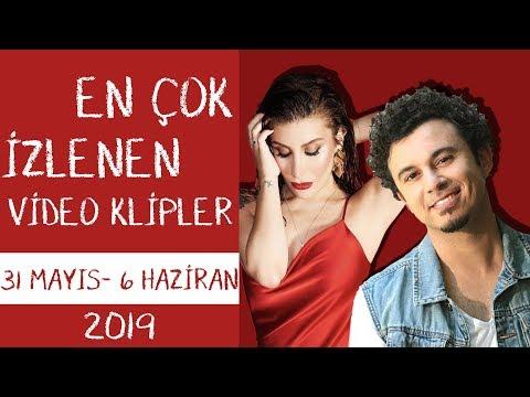 En Çok İzlenen Video Klipler Türkiye Top 40 (31 Mayıs-6 Haziran 2019)