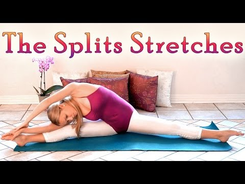 The Splits Stretches, Middle Splits Flexibility Workout, How To Do