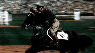 Castro & Cortes Win Equestrian Jumping Gold At Wembley- London 1948 Olympics