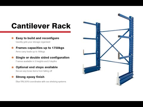 How To Assemble Cantilever Rack