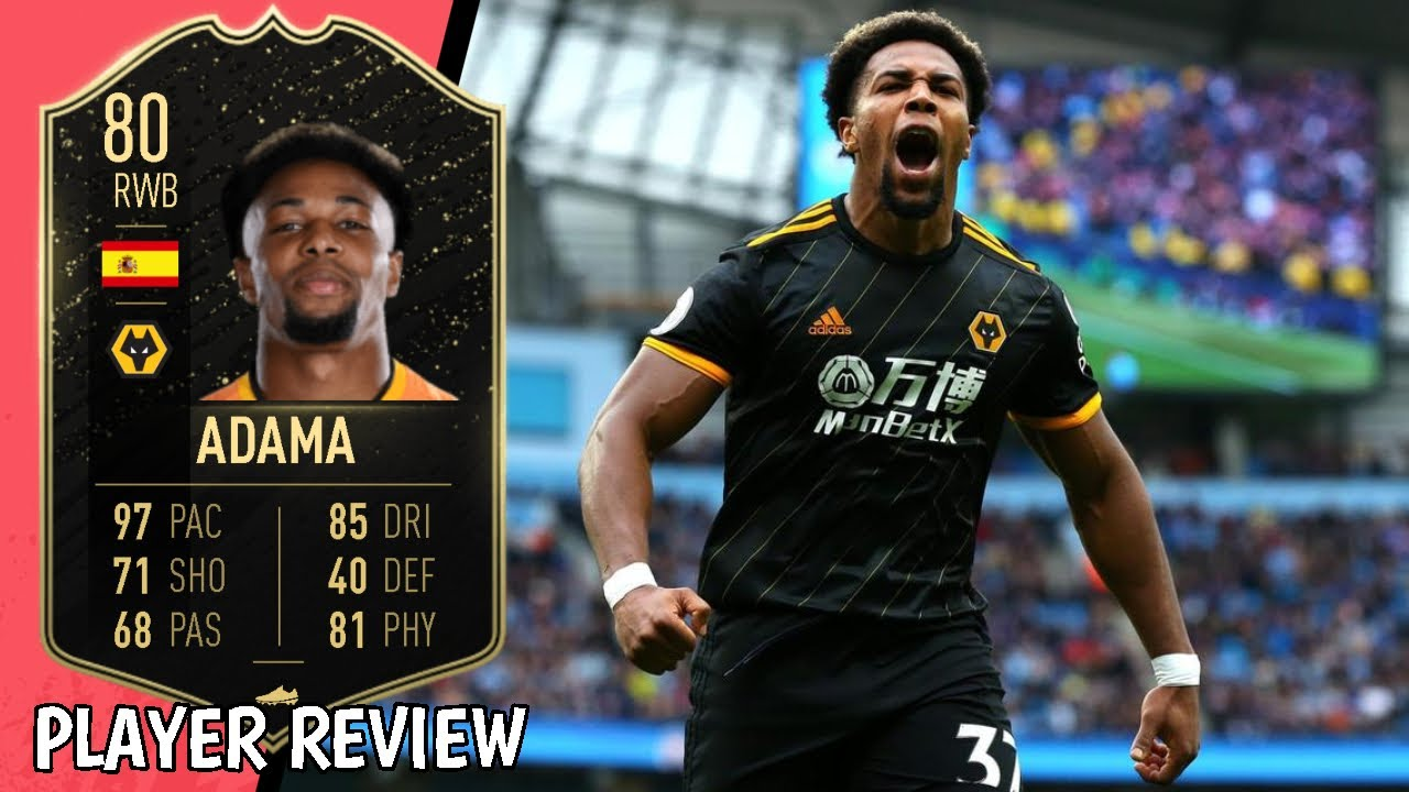 Fastest Player In Fifa 20 80 Adama Traore Player Review Ultimate Team Division Rivals Youtube