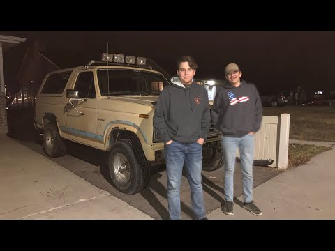 """""""Tanker""""  ford bronco project part"""