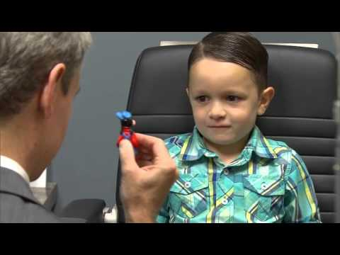 Your child's first eye exam