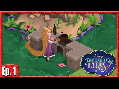 RAPUNZEL, LET DOWN YOUR HAIR! - Disney Enchanted Tales Gameplay - Ep. 1