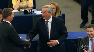 EU Parliament elects Juncker as Commission President
