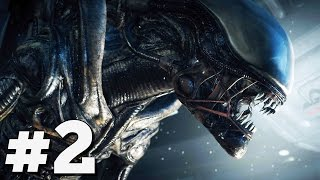 "Alien Isolation Walkthrough Gameplay Part 2 - ""Welcome to Sevastopol"" (PS4)"