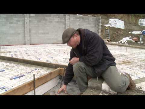 UAF Cooperative Extension Service: Radon mitigation in super-insulated slab