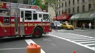 FDNY - Get Out - Chief & Truck Goes - 6/11/12