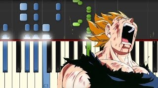 Video Dragon Ball Z / Cancion Triste / Piano Tutorial / Notas Musicales download MP3, 3GP, MP4, WEBM, AVI, FLV Juli 2018