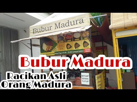 bubur-madura-ning-mila..-hanya-8000-rupiah,-perut-kenyang-seharian..!!-|-surabaya-street-food