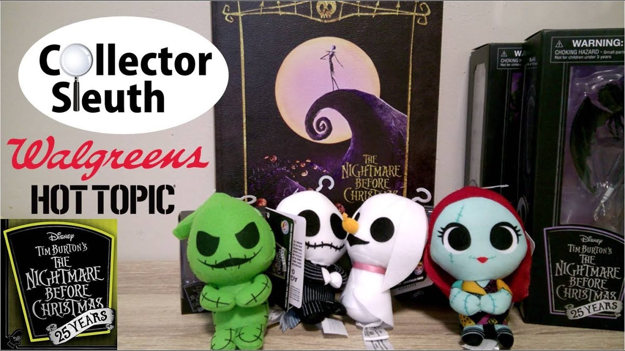 Nightmare Before Christmas 25th Anniversary Collectibles - Walgreens ...