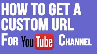 How to get your YouTube channel URL 2017