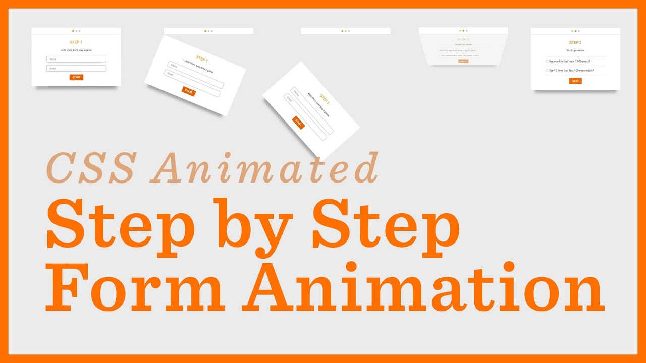Stepper Form Codepen