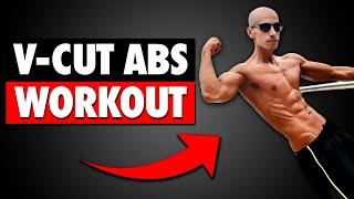 V-Cut ABS Workout   Follow Along!