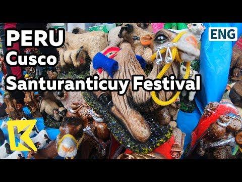 【K】Peru Travel-Cusco[페루 여행-쿠스코]산투란티쿠이 축제/Santuranticuy festival/Christmas/Crafts/Inca/Quechua