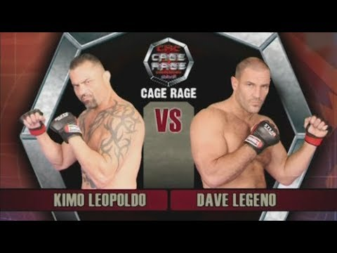 Kimo Leopoldo vs Dave Legeno Cage Rage 18  Battleground