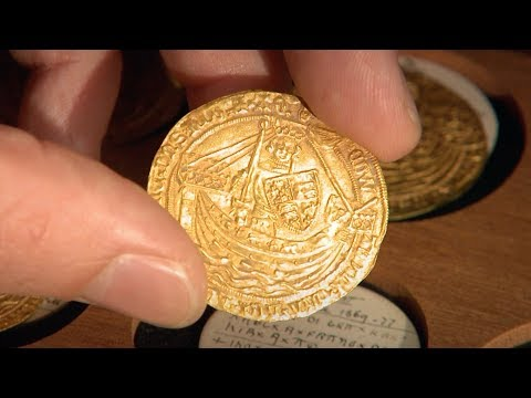 How are coins made at The Royal Mint?