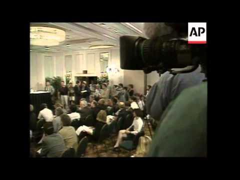 USA: ATLANTA: RICHARD JEWELL PRESS CONFERENCE