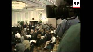 USA: ATLANTA: RICHARD JEWELL PRESS CONFERENCE