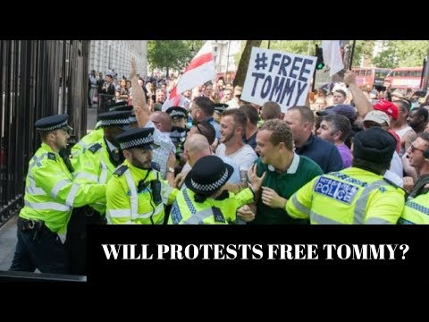 Will Global Protests Free Tommy Robinson?