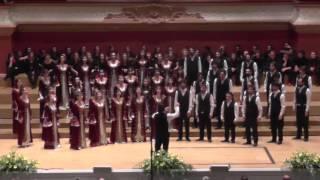 Jugendchor Bogazici Jazz Choir/Türkei: Feraye, EJCF Basel 2016