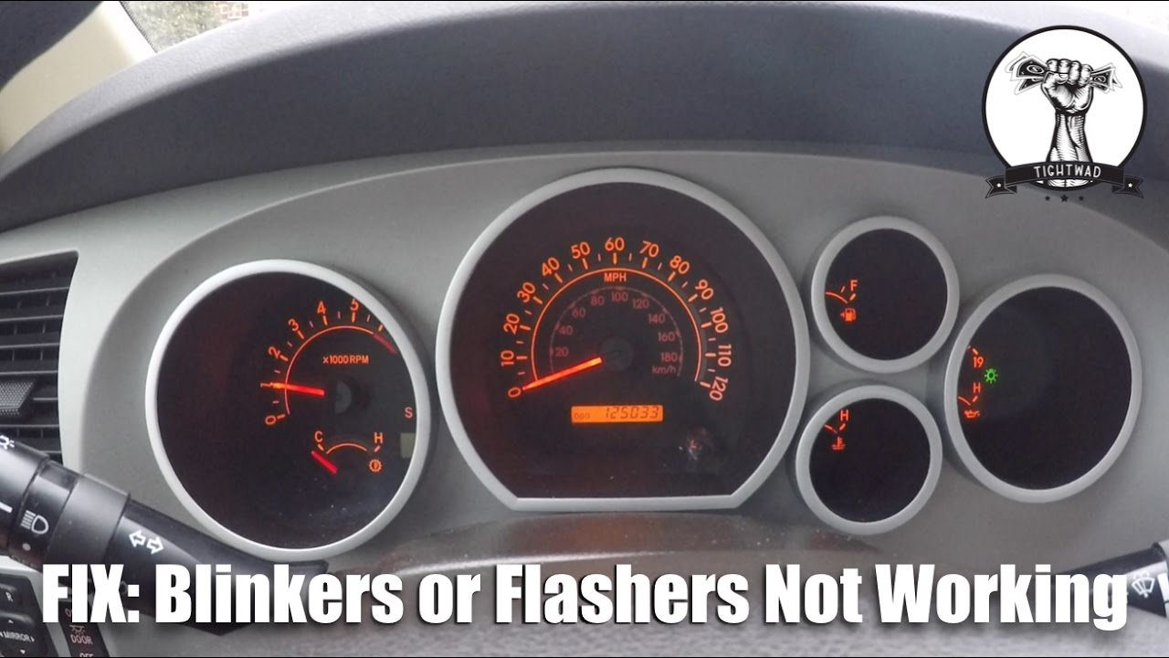 EASY FIX: Blinkers or Flashers Not Working