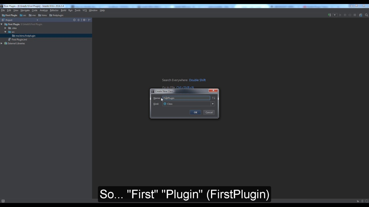 [Bukkit/Spigot] IntelliJ | Creating your first Spigot plugin [Coding]