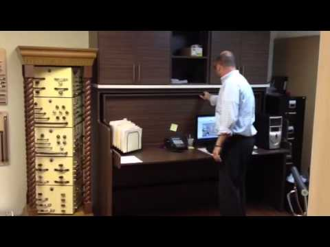 a desk that turns into a bed youtube. Black Bedroom Furniture Sets. Home Design Ideas
