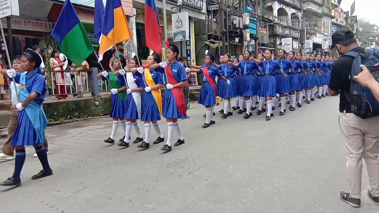 73rd Independence Day celebration at Kalimpong 2019/St Philomena's Girls Higher Secondary Schoo