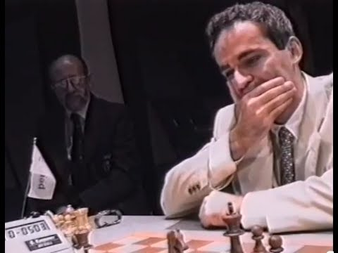 First Computer to Beat Kasparov 😱 - Intel Grand Prix London 1994)
