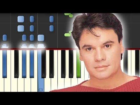 Amor Eterno / Juan Gabriel / Piano Tutorial / Notas Musicales