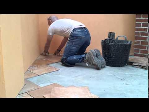 the fine art of brickwork - Floor Tiling   summer house