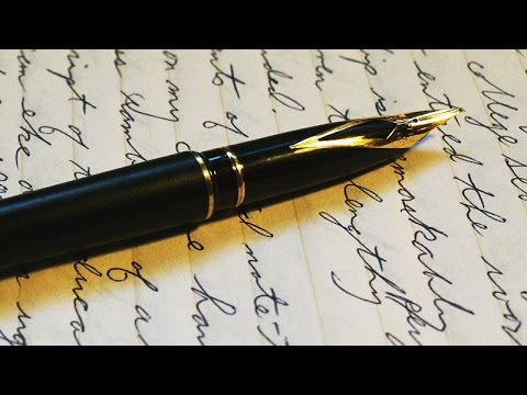 Confessions of an Office Supply Junky - Episode 6: Fountain Pens
