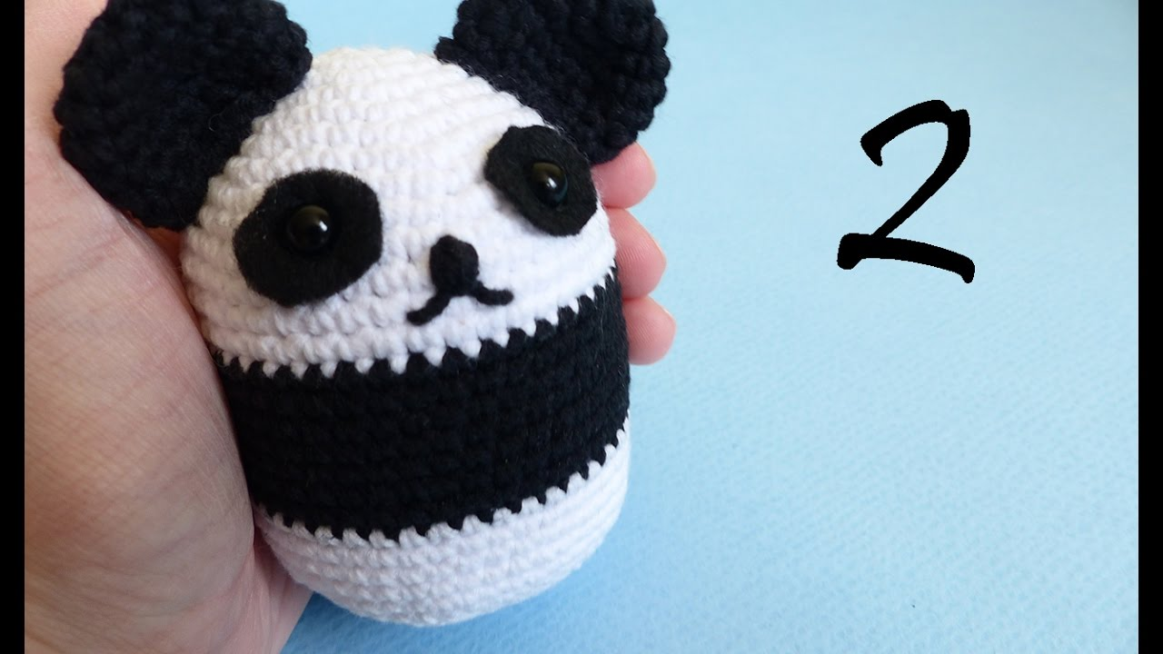 Super Cute Panda Crochet Patterns You Will Love | The WHOot | 720x1280