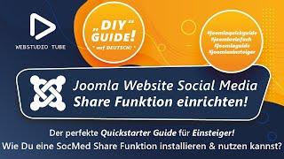 Joomla 3.0 mit Facebook Twitter & Pinterest verbinden - Modul Installieren Tutorial Deutsch