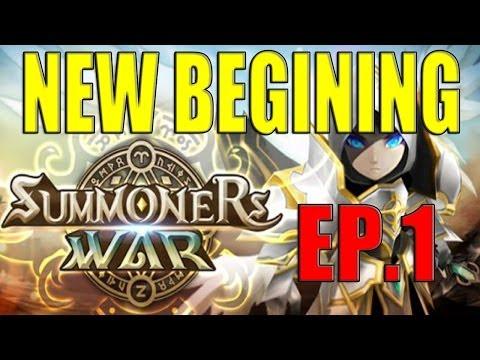 Summoners War Ep#1 Intro The Begining!  Enjoy!