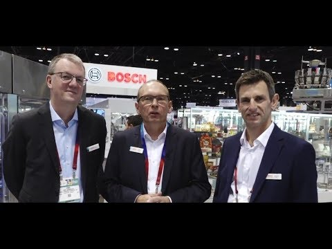 Bosch Is Welcoming You To PACK EXPO 2018 In Chicago
