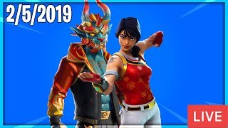 🔴 NEW ITEM SHOP COUNTDOWN || February 5th New Skins || Daily Fortnite Item Shop 🔴