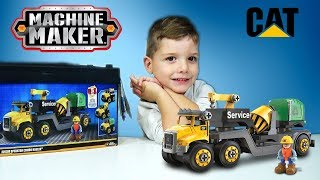 Machine Maker Junior Σετ Κατασκευών Μηχανήματα Cat Παιχνίδια διακέδαση για παιδιά Star Toys