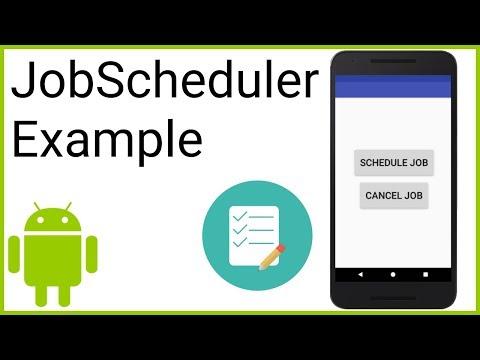 JobScheduler - Android Studio Tutorial - YouTube