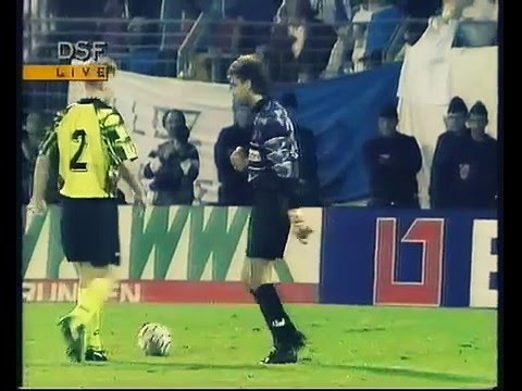 AJ Auxerre - Borussia Dortmund UEFA-Cup 1992/93 Elfmeterschießen
