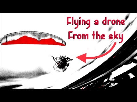 INCEPTION Flying DRONE While Flying