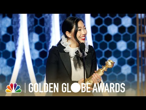 Kathy With a K - 2020 Golden Globe Highlights! Speeches! Tears! Awkwafina!