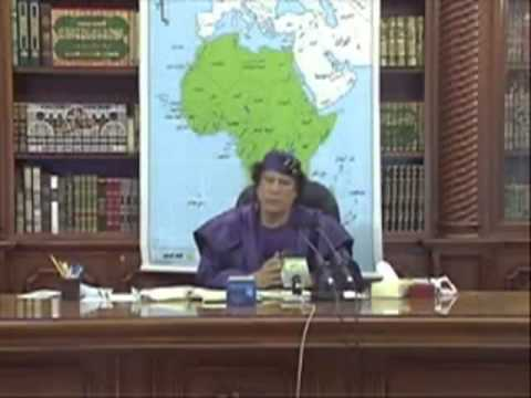 Al Gaddafi in Senegal   Vision of an African Cultural Revolution to Preserve the African Identity an