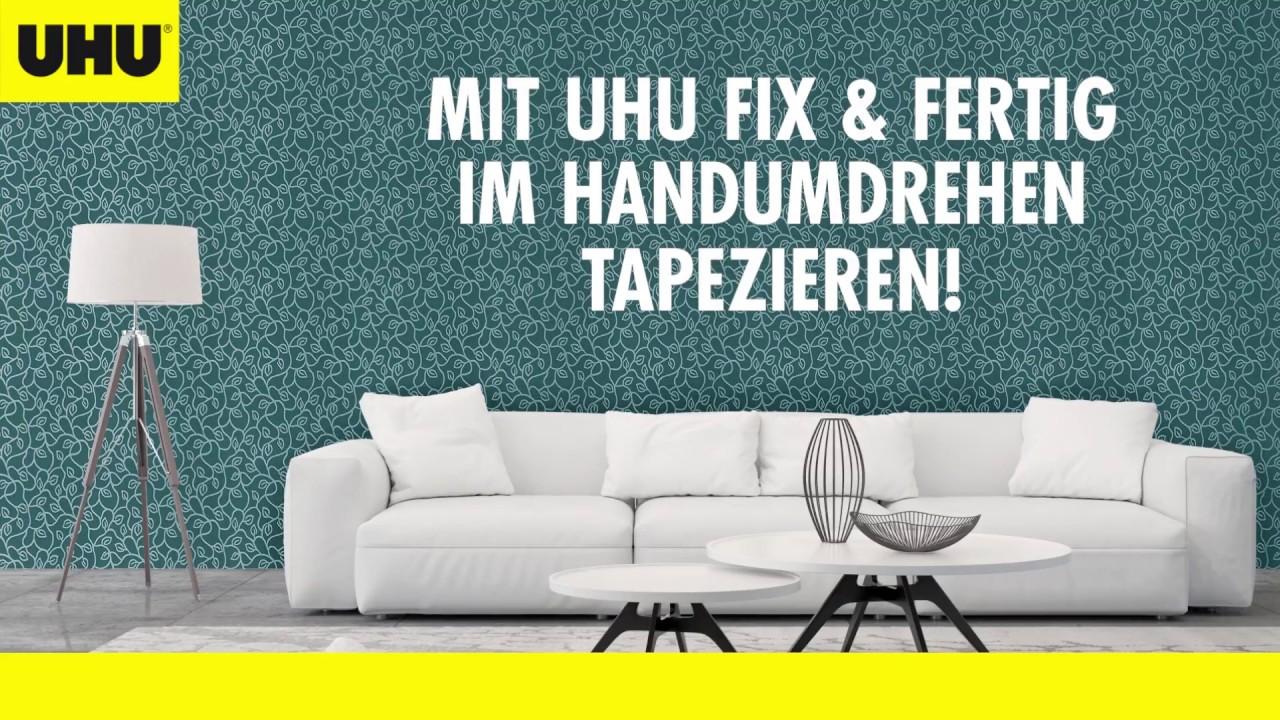 UHU Fix & Fertig Tapetenkleister - Universell und gebrauchsfertig ...
