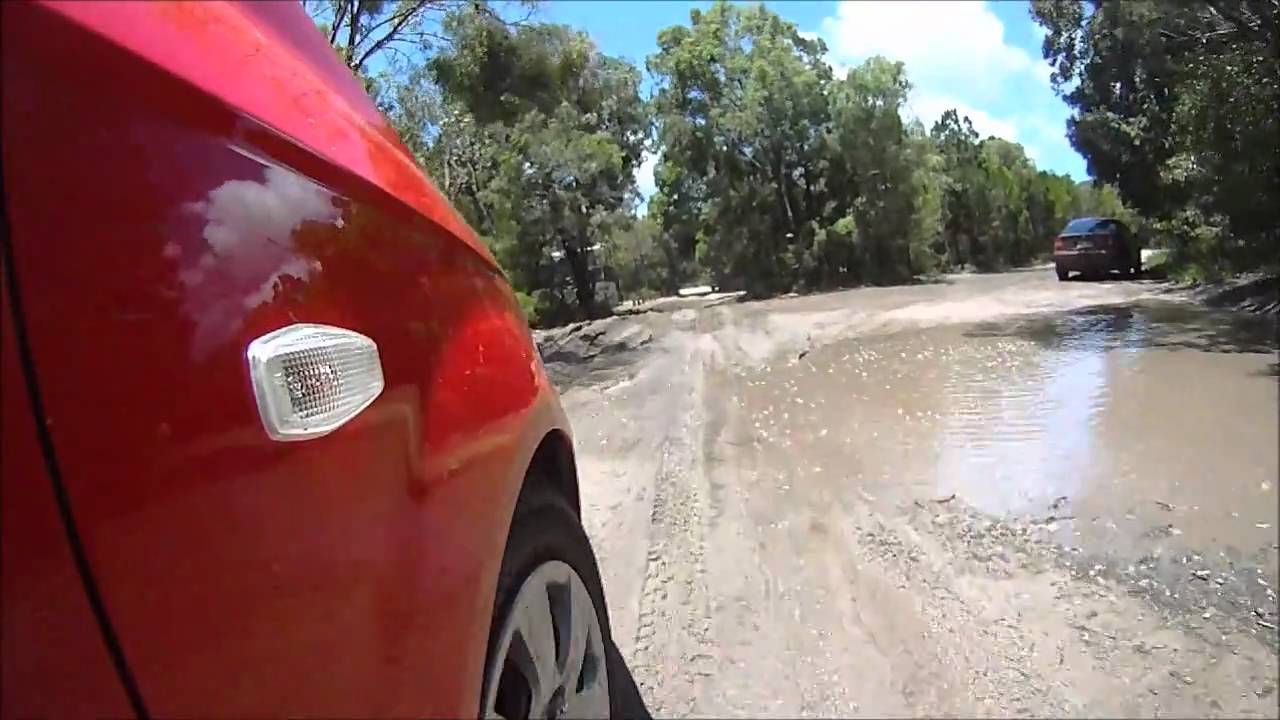 Inskip Point Camping Grounds Qld Youtube